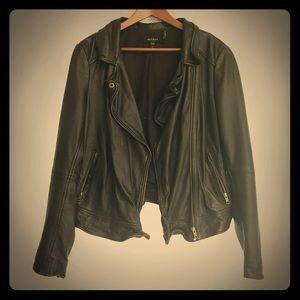 Buttersoft Muuba lambskin perfect leather jacket